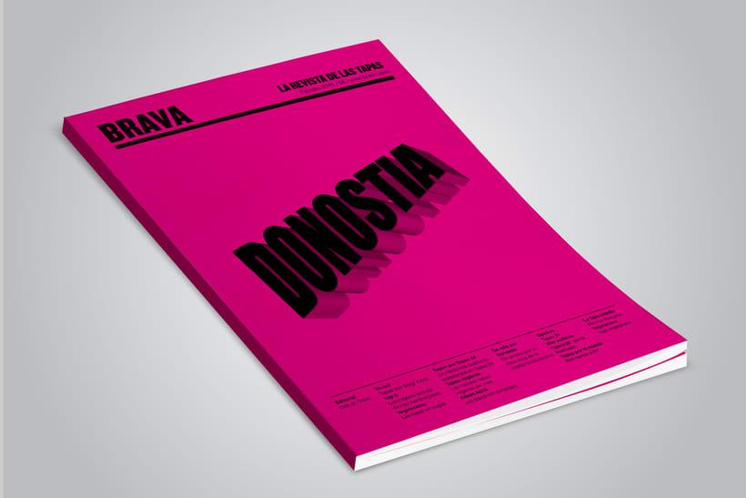 Brava. Proyecto editorial_Revista de tapas y de rutas por diferentes ciudades. Natalia Nebot_Laura Soriano 6
