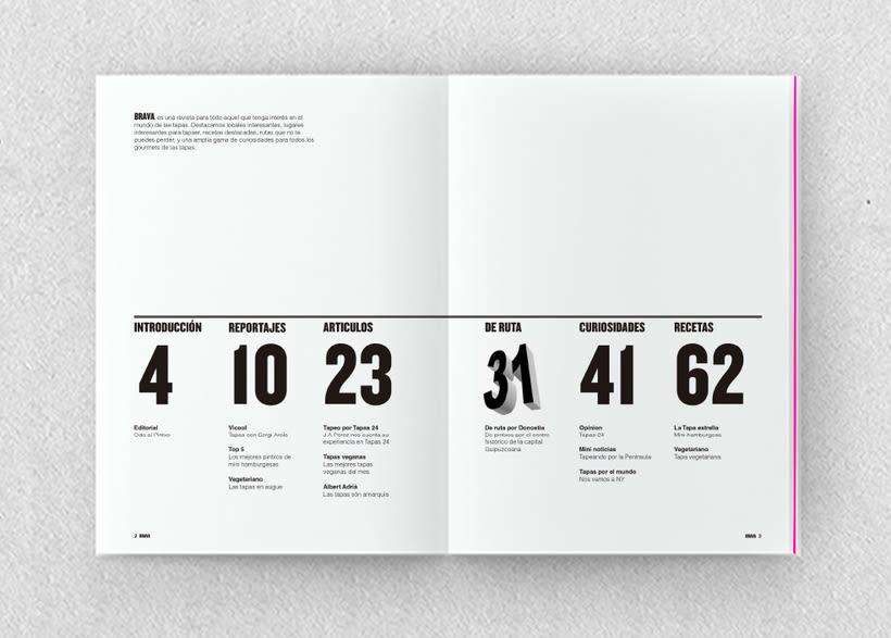 Brava. Proyecto editorial_Revista de tapas y de rutas por diferentes ciudades. Natalia Nebot_Laura Soriano 8