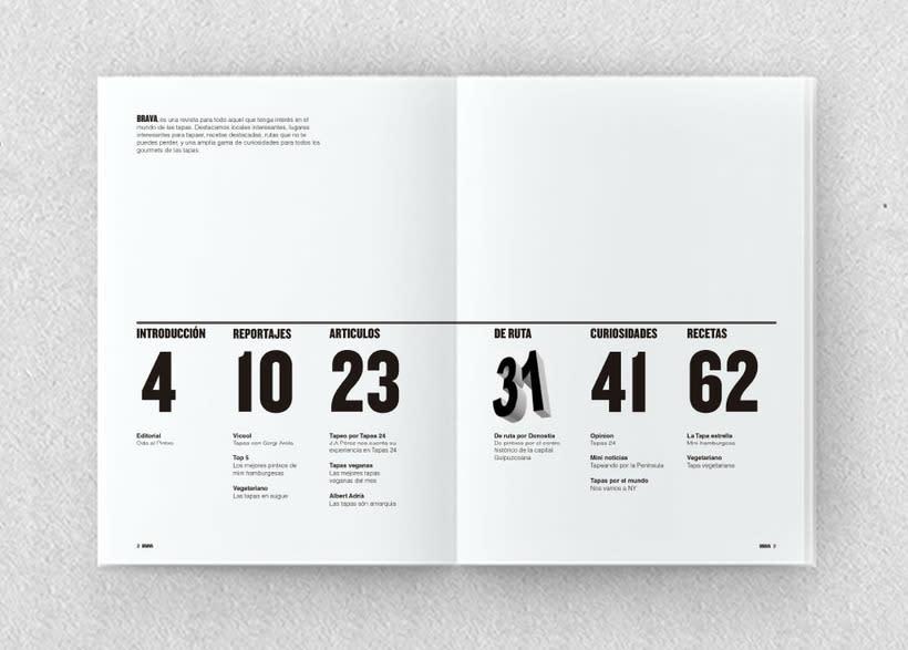 Brava. Proyecto editorial_Revista de tapas y de rutas por diferentes ciudades. Natalia Nebot_Laura Soriano 9
