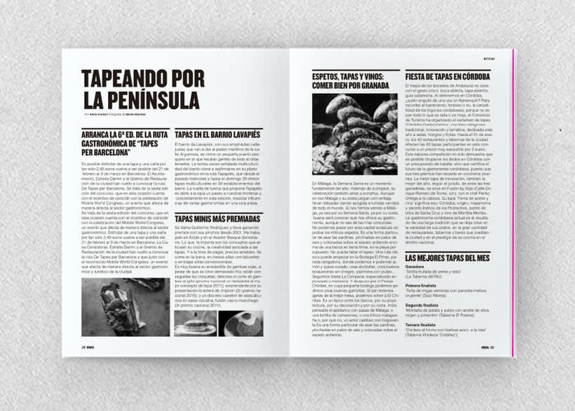 Brava. Proyecto editorial_Revista de tapas y de rutas por diferentes ciudades. Natalia Nebot_Laura Soriano 10