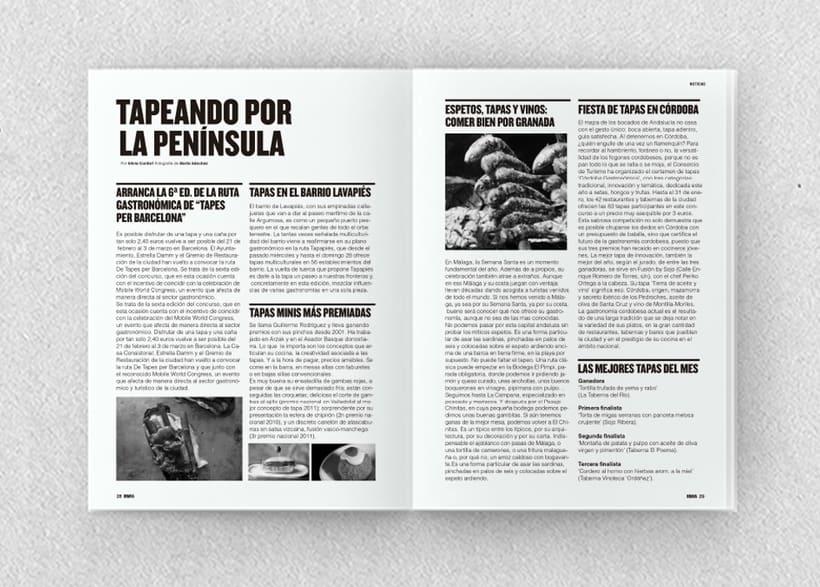 Brava. Proyecto editorial_Revista de tapas y de rutas por diferentes ciudades. Natalia Nebot_Laura Soriano 11
