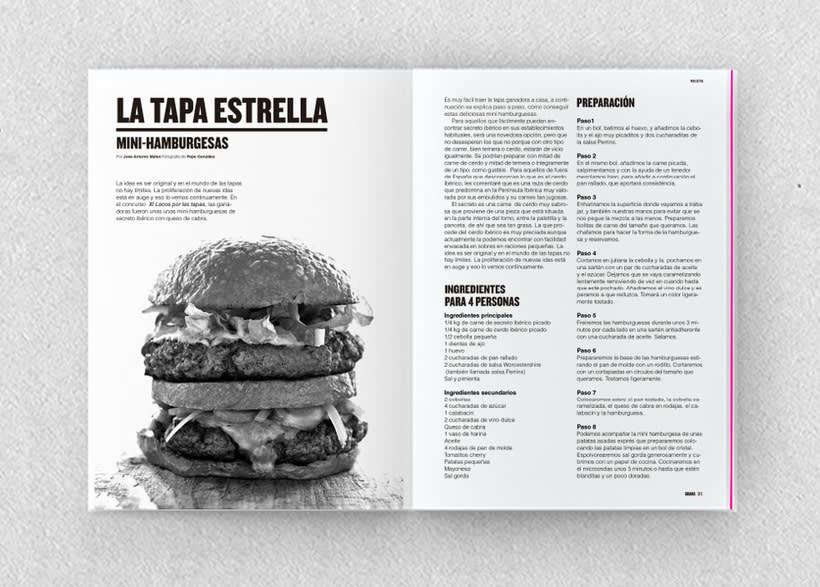 Brava. Proyecto editorial_Revista de tapas y de rutas por diferentes ciudades. Natalia Nebot_Laura Soriano 12