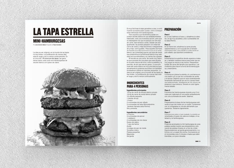 Brava. Proyecto editorial_Revista de tapas y de rutas por diferentes ciudades. Natalia Nebot_Laura Soriano 13
