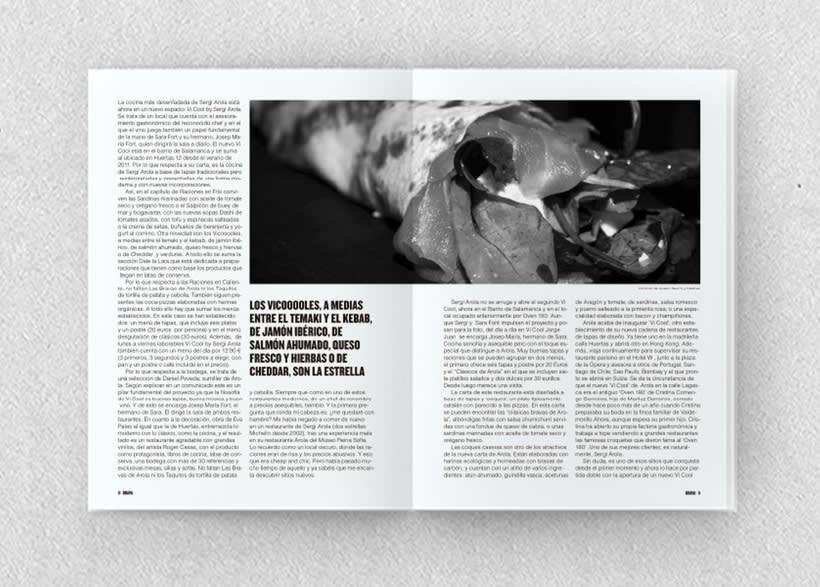 Brava. Proyecto editorial_Revista de tapas y de rutas por diferentes ciudades. Natalia Nebot_Laura Soriano 20