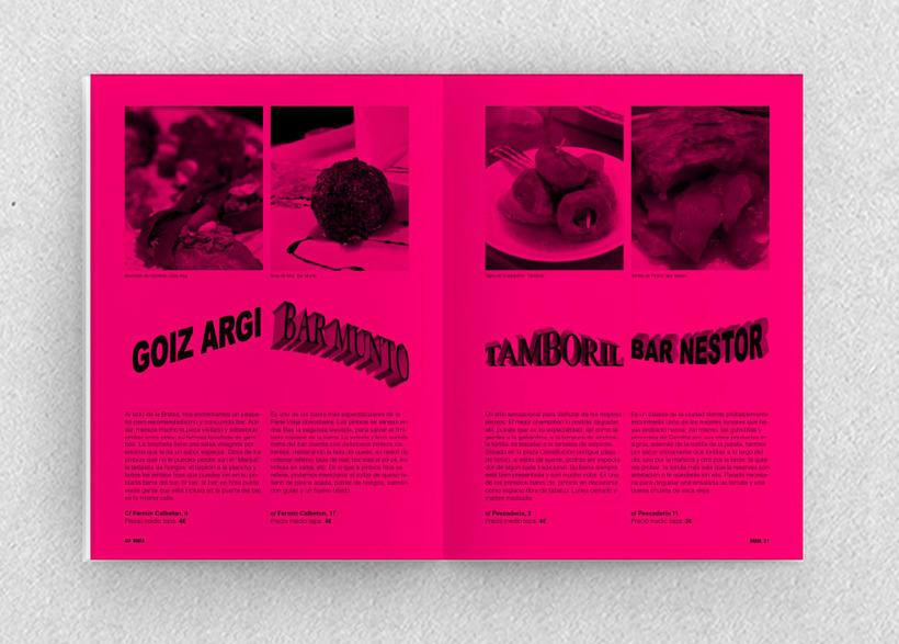 Brava. Proyecto editorial_Revista de tapas y de rutas por diferentes ciudades. Natalia Nebot_Laura Soriano 26