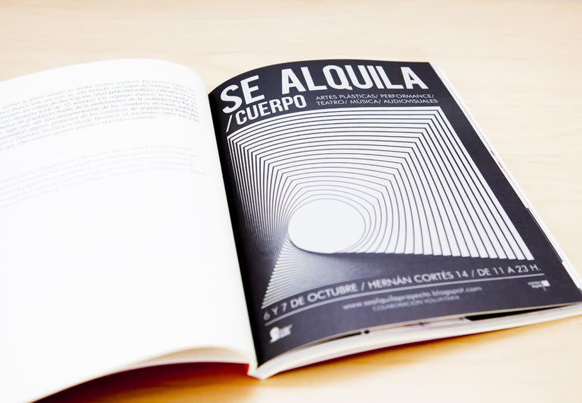 SE ALQUILA. Memoria teórica y visual 2