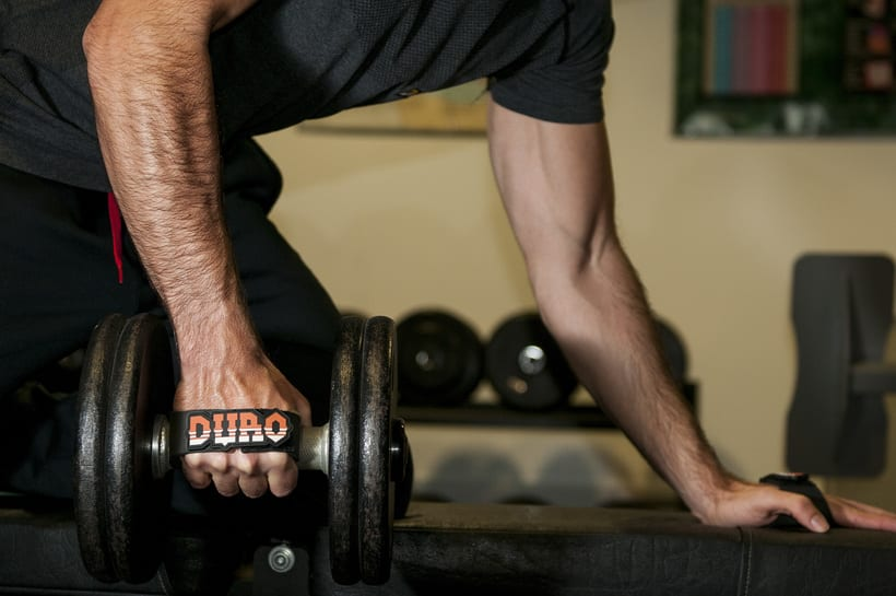 Duro grips (crossfit, fitness, dumbbell grips) 2