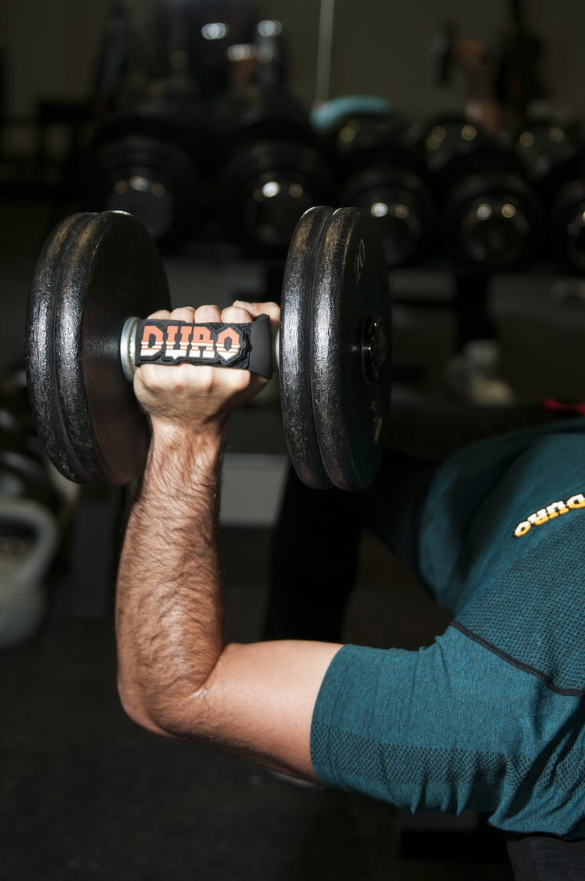Duro grips (crossfit, fitness, dumbbell grips) 6