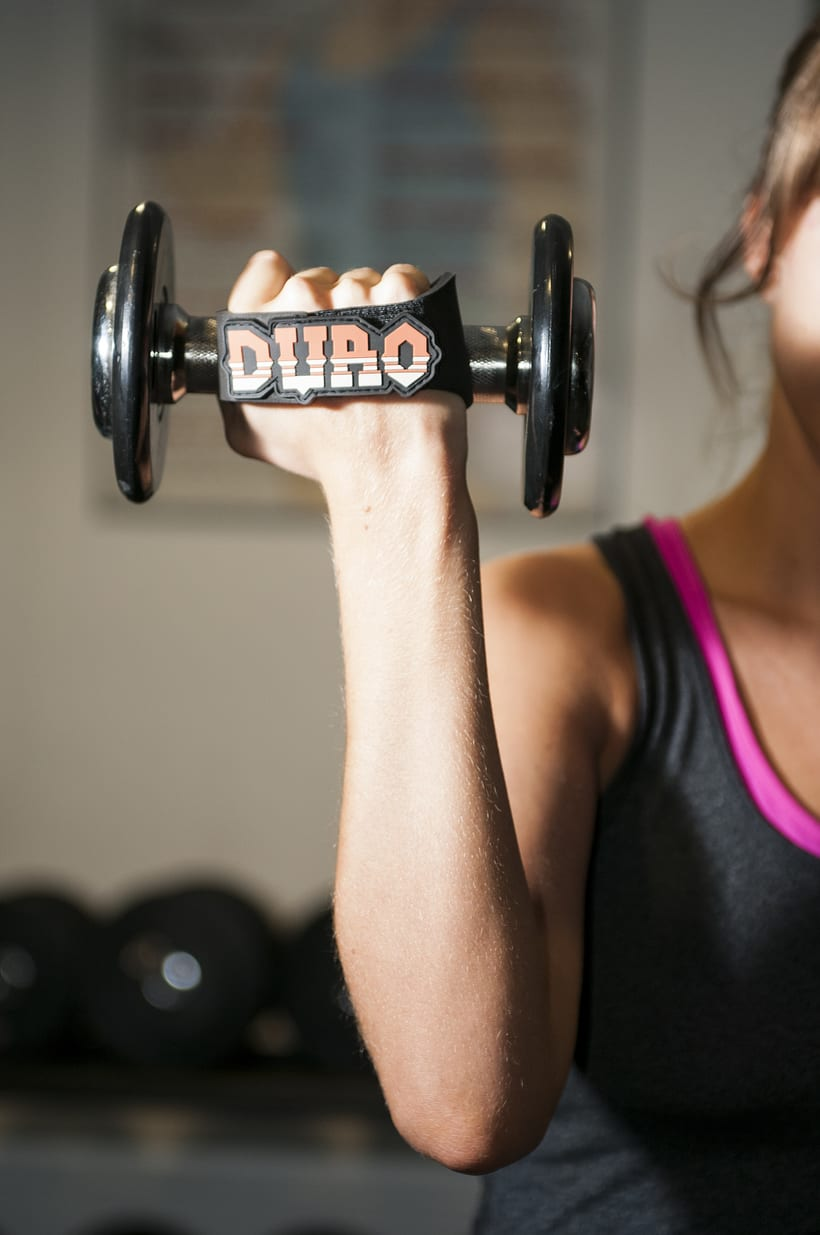 Duro grips (crossfit, fitness, dumbbell grips) 3