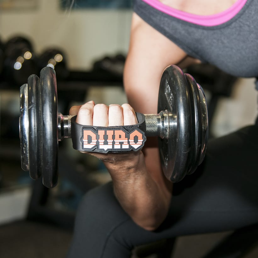 Duro grips (crossfit, fitness, dumbbell grips) 8
