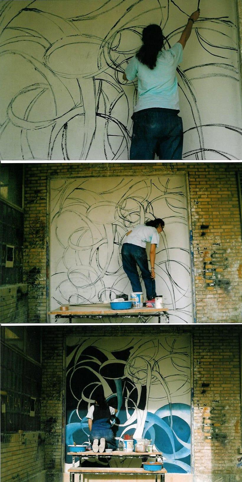 Mural paiting 1