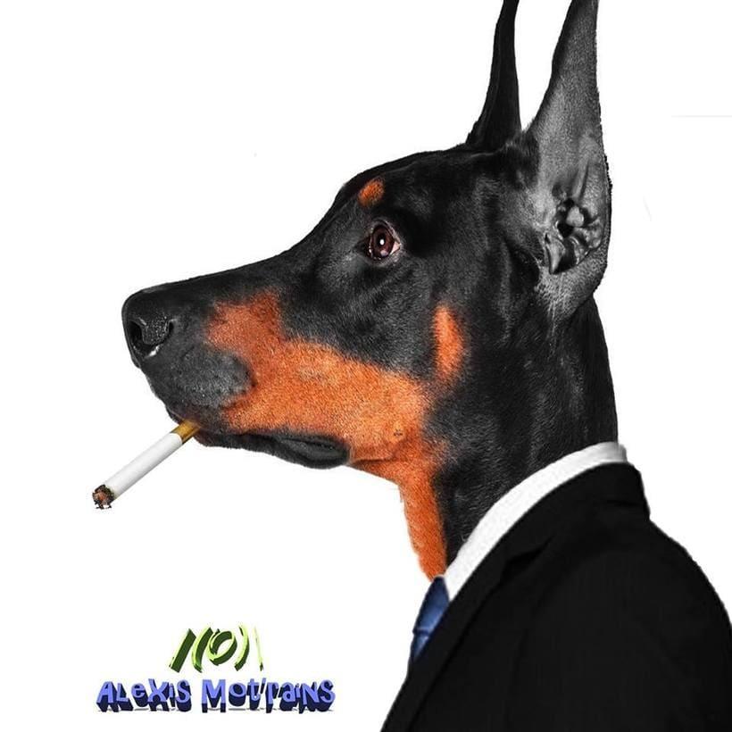 Perro Fumador -1
