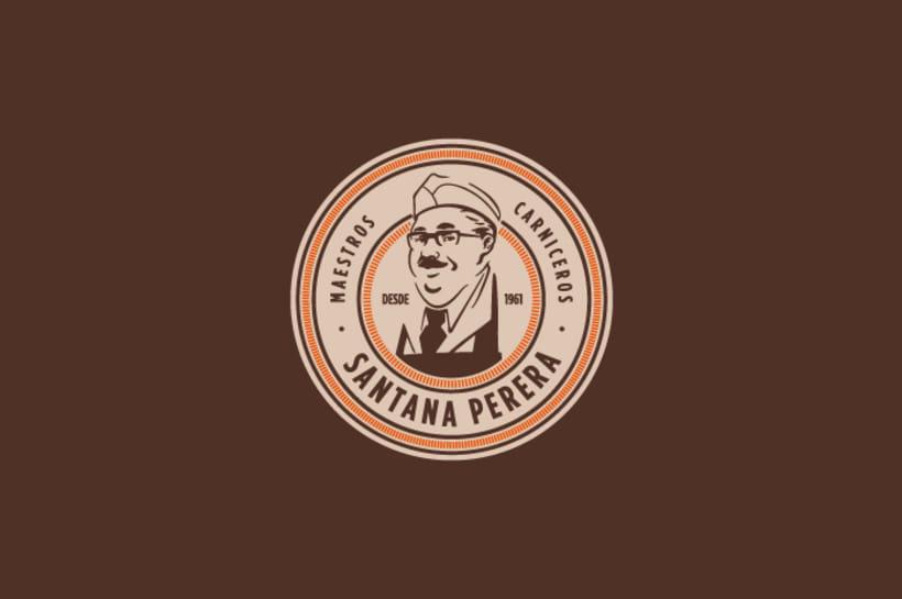 Ilustración, logo de Santana Perera 4
