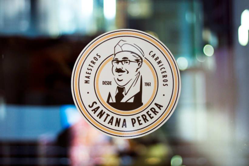 Ilustración, logo de Santana Perera 5