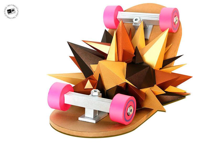 Lobulo es el amo y señor del papercraft 18