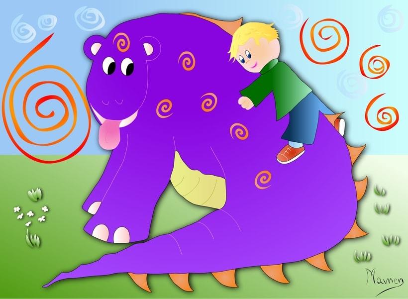 Ilustración de cuentos infantiles 2