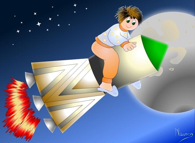 Ilustración de cuentos infantiles 3