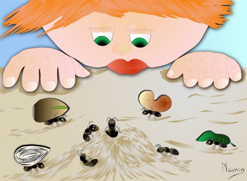 Ilustración de cuentos infantiles 9