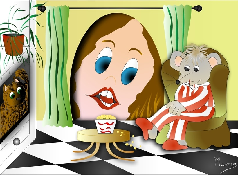 Ilustración de cuentos infantiles 11