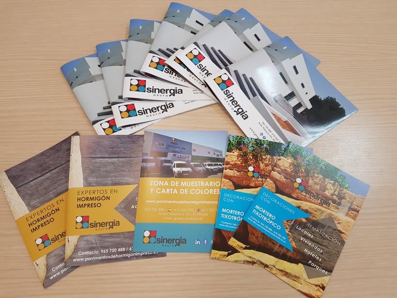 Algunos de nuestros trabajos para nuestro cliente GRUPO SINERGIA -1
