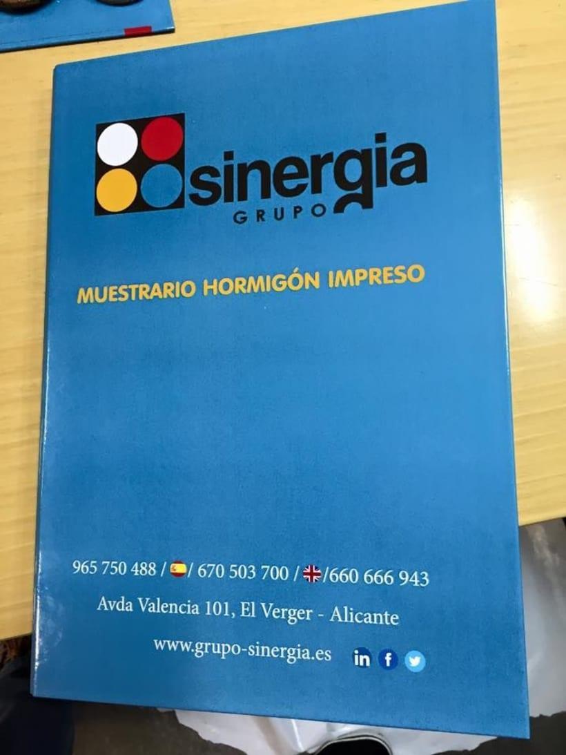 Algunos de nuestros trabajos para nuestro cliente GRUPO SINERGIA 0
