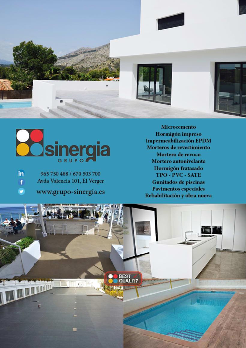 Algunos de nuestros trabajos para nuestro cliente GRUPO SINERGIA 6