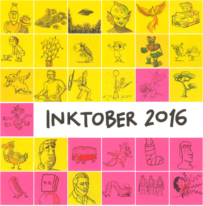 Post-it inktober 2016 4
