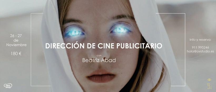 Workshop Dirección de Cine Publicitario con Beatriz Abad 1