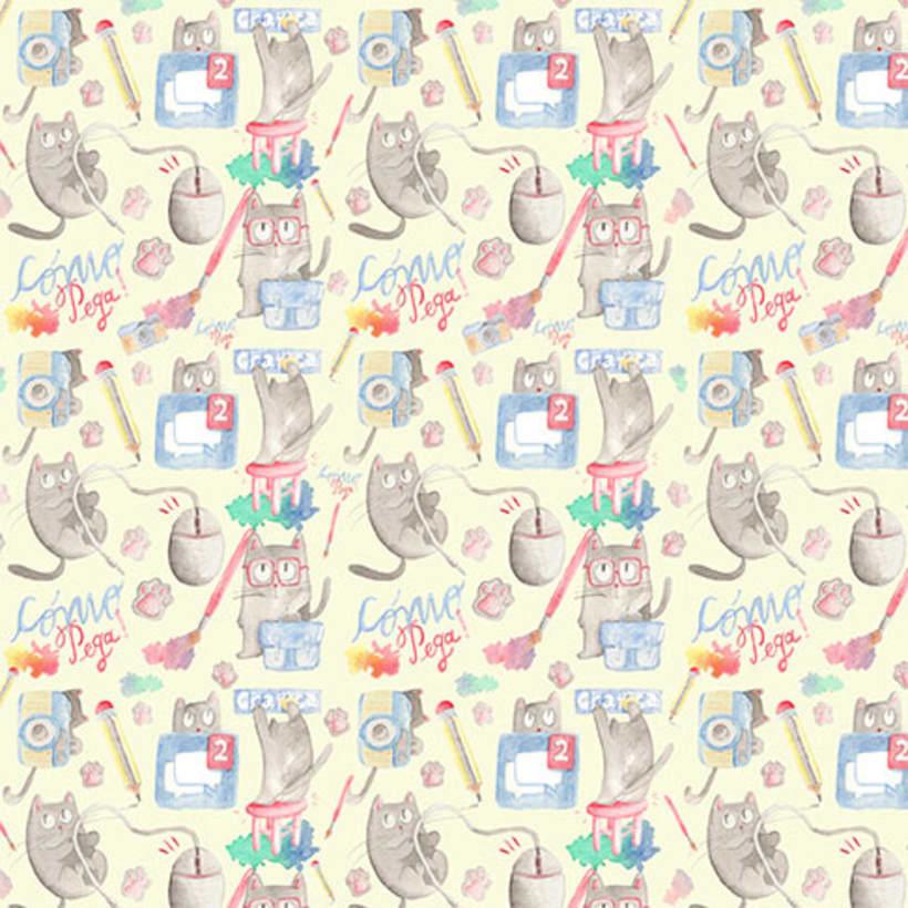 Mi Proyecto del curso: Pattern Design analógico y digital 3
