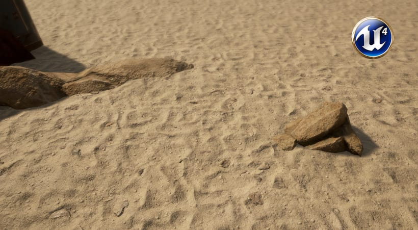 PBR Procedural Sand Ground 2