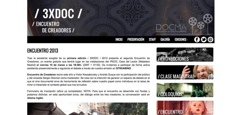 Encuentro de creadores 3xDOC - Texto de presentación -1