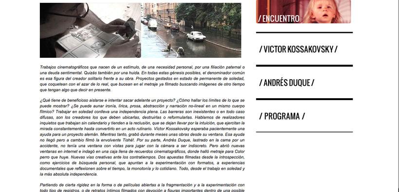 Encuentro de creadores 3xDOC - Texto de presentación 0