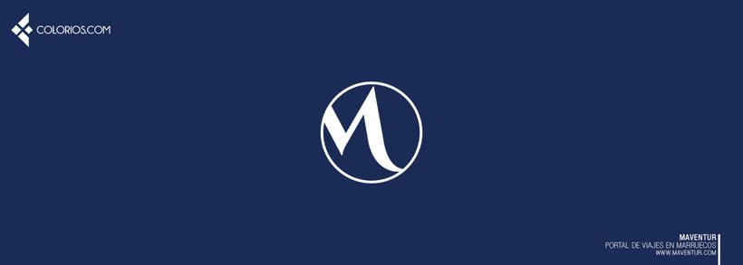 Logotipo Maventur 3