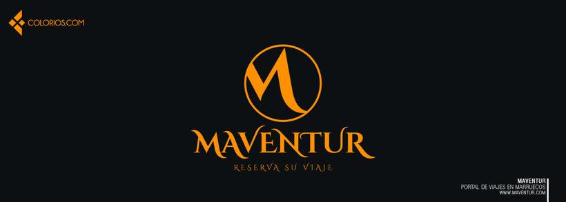Logotipo Maventur 6
