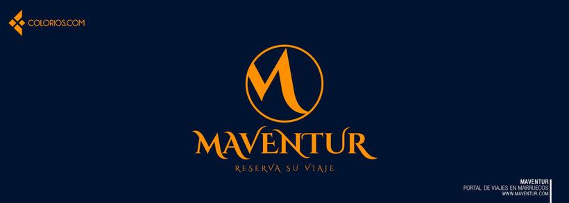 Logotipo Maventur 7