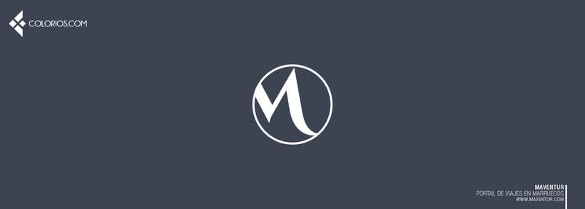 Logotipo Maventur 8