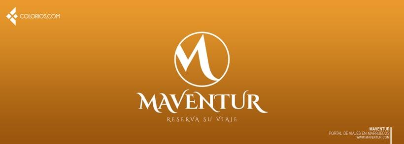 Logotipo Maventur 9