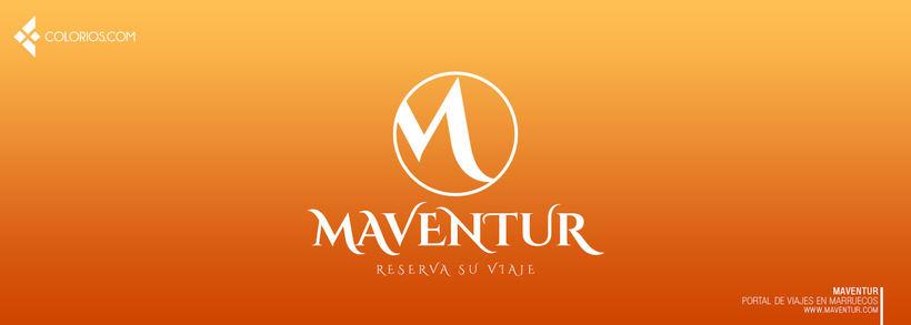 Logotipo Maventur 10