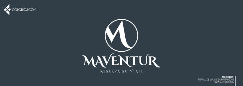 Logotipo Maventur 12
