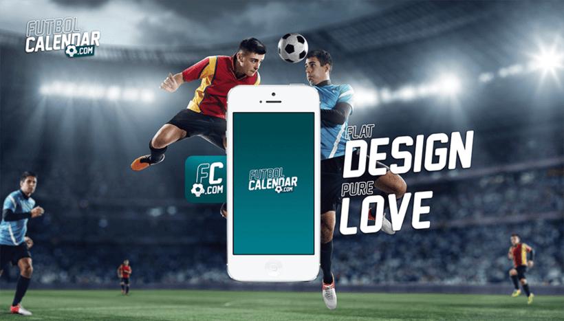FutbolCalendar.com :: Logo + icon app 2
