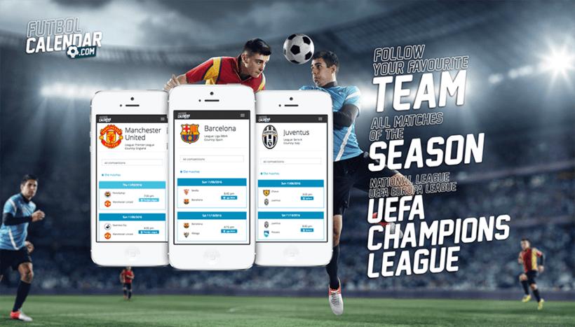 FutbolCalendar.com :: Logo + icon app 3