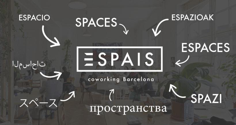 Espais coworking Barcelona :: logotipo 1