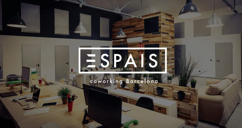 Espais coworking Barcelona :: logotipo 2