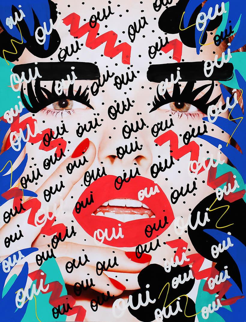 Andreea Robescu, donde Ilustración y moda se diluyen 4