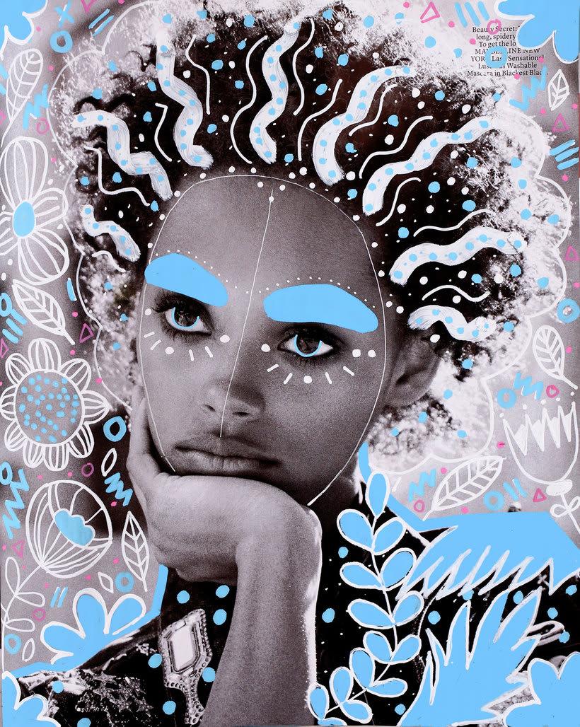 Andreea Robescu, donde Ilustración y moda se diluyen 5