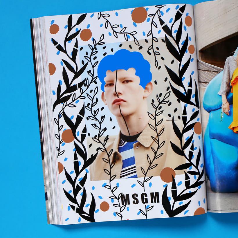 Andreea Robescu, donde Ilustración y moda se diluyen 8