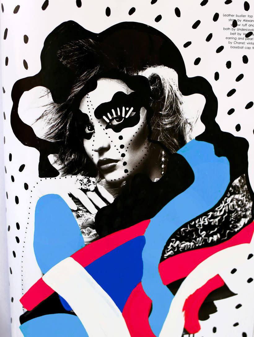 Andreea Robescu, donde Ilustración y moda se diluyen 9