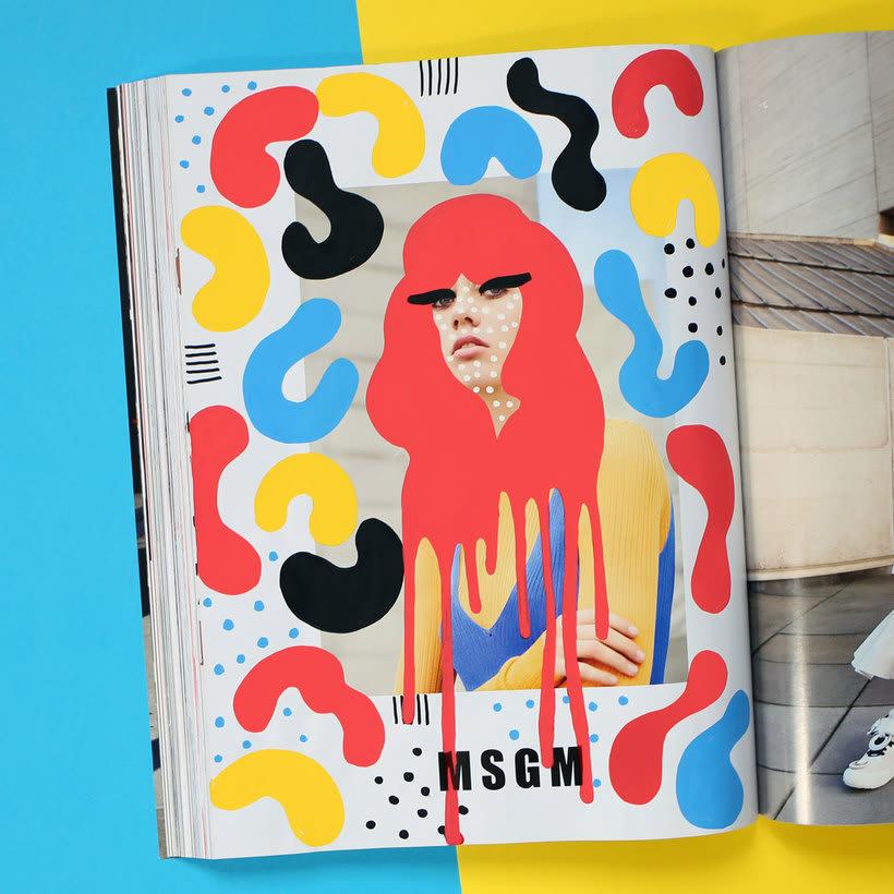 Andreea Robescu, donde Ilustración y moda se diluyen 10