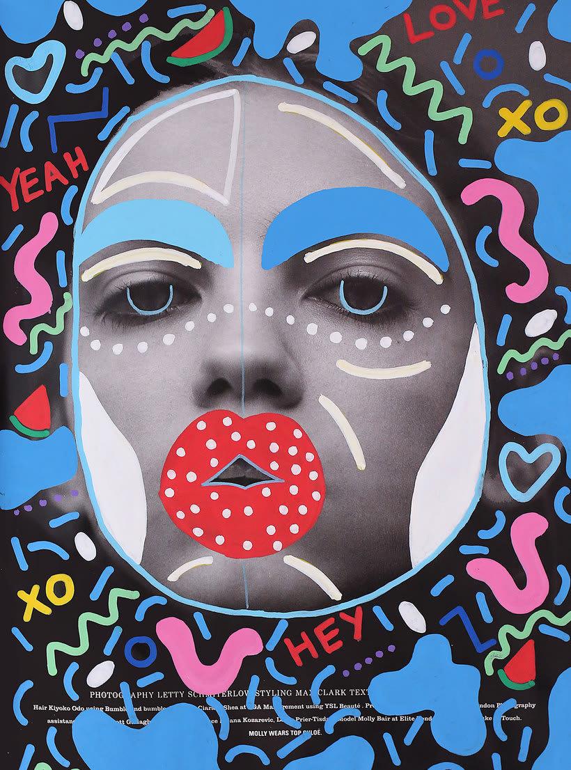 Andreea Robescu, donde Ilustración y moda se diluyen 11