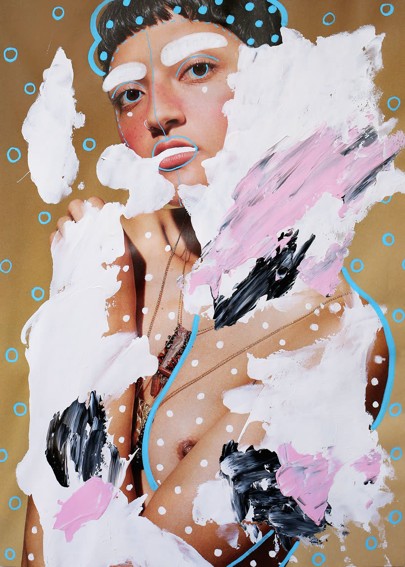 Andreea Robescu, donde Ilustración y moda se diluyen 14